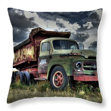 Old International #2 Throw Pillow