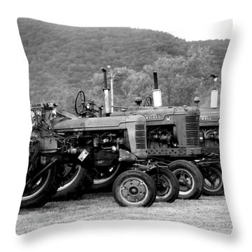 Throw Pillow featuring the photograph Old Iron by Rick Morgan