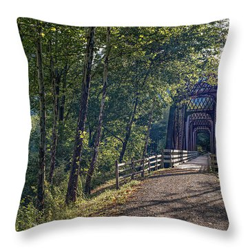 Old Is New Again Throw Pillow