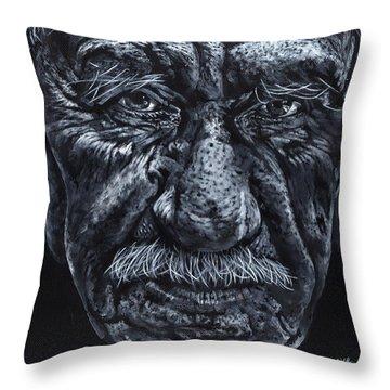 Old Joe Throw Pillow