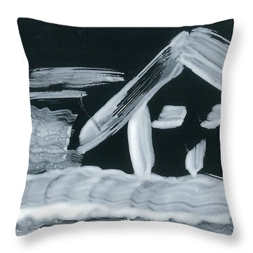 Old Kyoto Throw Pillow by Don Koester