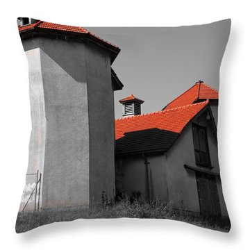 Old Longview Farm Throw Pillow