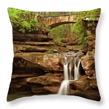 Old Mans Cave Throw Pillow