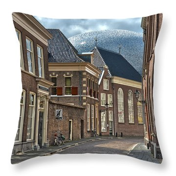 Old Meets New In Zwolle Throw Pillow