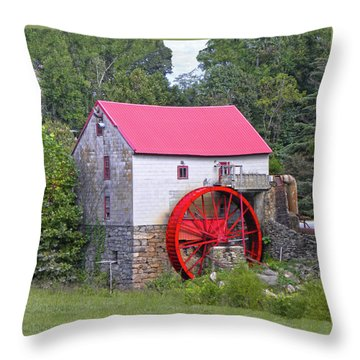 Old Mill Of Guilford Squared Throw Pillow
