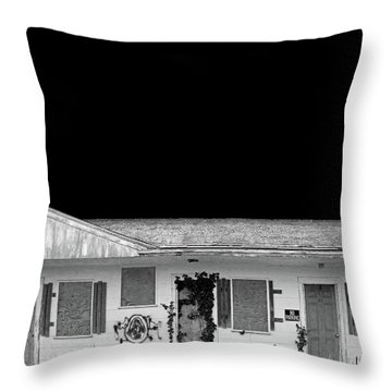 Old Motel, Cape Cod Throw Pillow by Brooke T Ryan