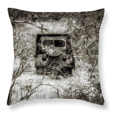 Old N Forgotten Throw Pillow