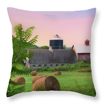 Throw Pillow featuring the photograph Old New York by Bill Wakeley