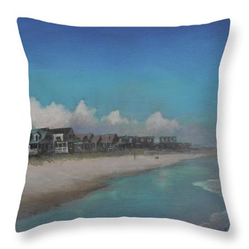 Old Pawleys Throw Pillow by Blue Sky