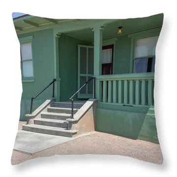 Old Period Suburban American Home Throw Pillow