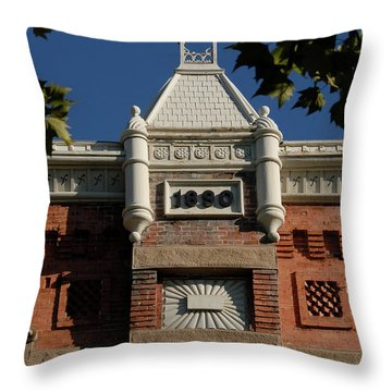 Old Provo  Throw Pillow by David Lee Thompson