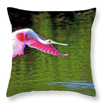 Old Red Eye Throw Pillow