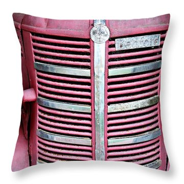 Throw Pillow featuring the photograph Old Red by Stephen Mitchell