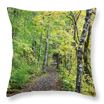 Old Rr Right-away Throw Pillow