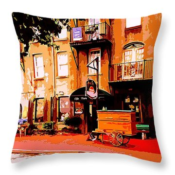 Old Savannah Throw Pillow