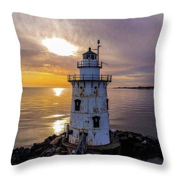 Old Saybrook Outer Light Throw Pillow
