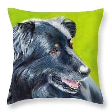 Old Shep Throw Pillow