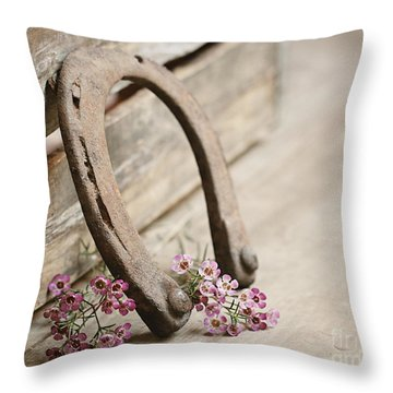 Old Shoe Throw Pillow