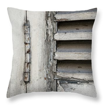 Throw Pillow featuring the photograph Old Shutters by Elena Elisseeva
