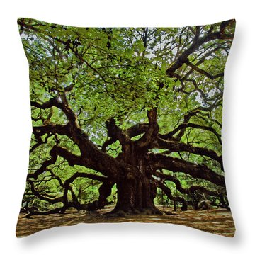 Old South Throw Pillow