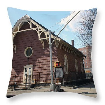 Old St. James Church  Throw Pillow