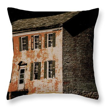 Old Stone Throw Pillow