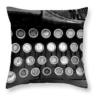 Old Tech Low Tech Throw Pillow by Mark Grayden