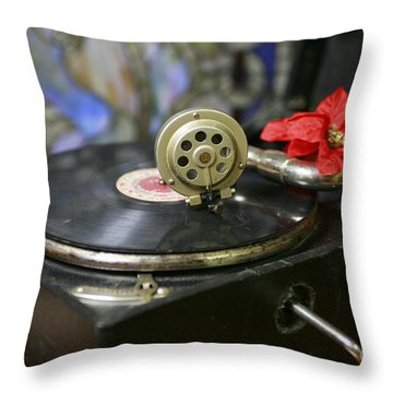 Old Time Photo Throw Pillow