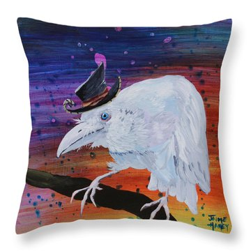 Old Timer Throw Pillow