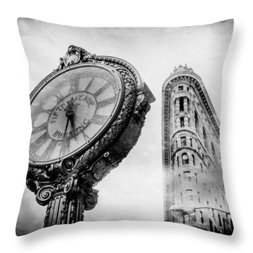 Old Time's Sake Throw Pillow