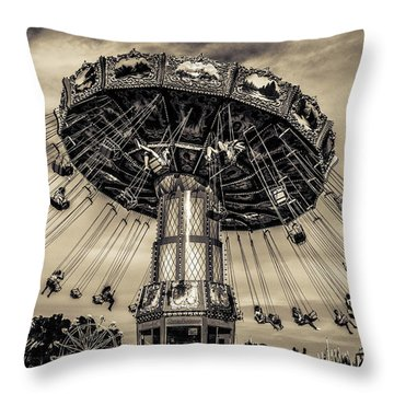 Old Tyme County Fair Throw Pillow