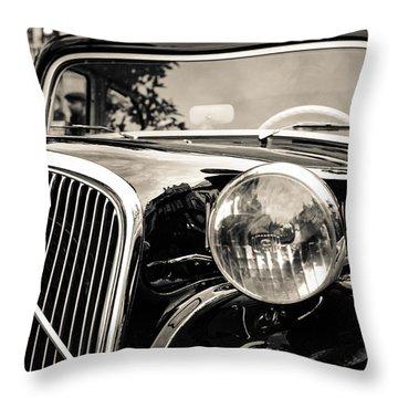 Citroen Traction Avant Throw Pillow
