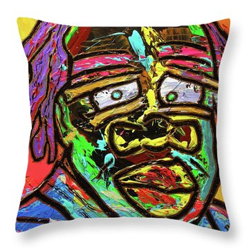 Old Was Throw Pillow