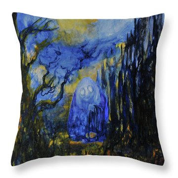 Old Ways Throw Pillow by Christophe Ennis