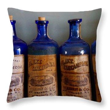 Throw Pillow featuring the photograph Old West 10 by Deniece Platt