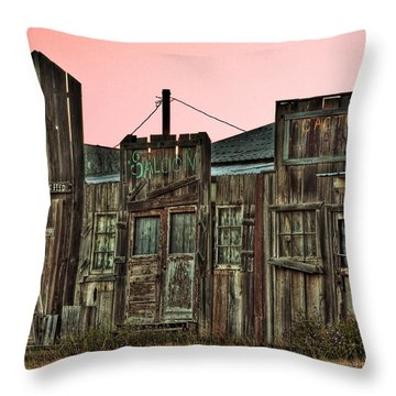 Old Wild West Throw Pillow