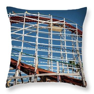 Old Woody Coaster Throw Pillow