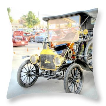 Throw Pillow featuring the photograph Oldie But Goodie by Dyle   Warren
