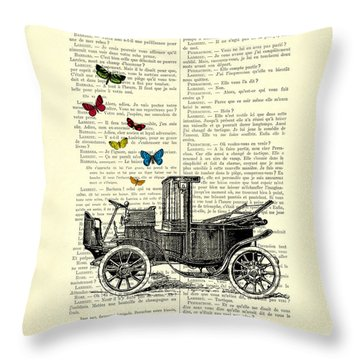 Oldtimer Throw Pillows