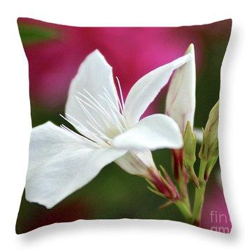 Oleander Casablanca 2 Throw Pillow