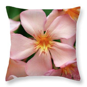 Oleander Dr. Ragioneri 1 Throw Pillow