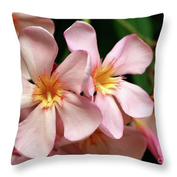 Oleander Dr. Ragioneri 2 Throw Pillow