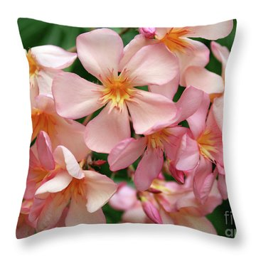 Oleander Dr. Ragioneri 3 Throw Pillow