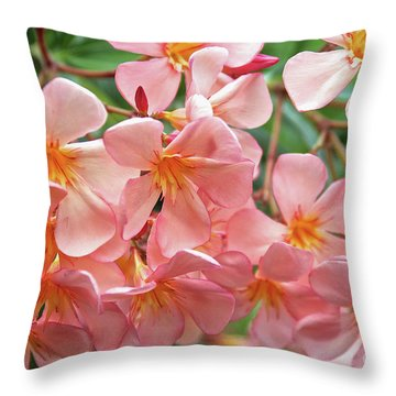 Oleander Dr. Ragioneri 5 Throw Pillow