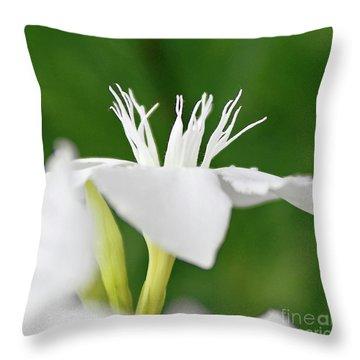 Oleander Ed Barr 2 Throw Pillow