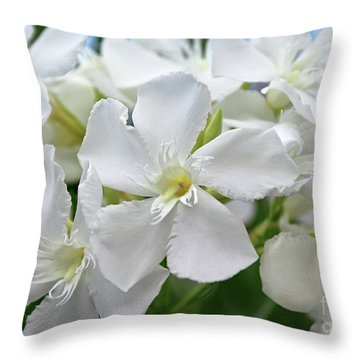 Oleander Ed Barr 3 Throw Pillow