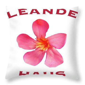 Oleander Haus Throw Pillow