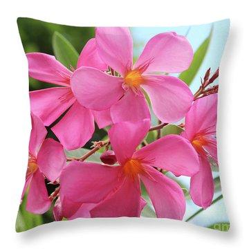 Oleander Maresciallo Graziani 1 Throw Pillow