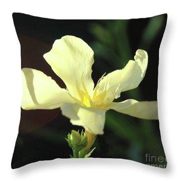 Oleander Marie Gambetta 1 Throw Pillow