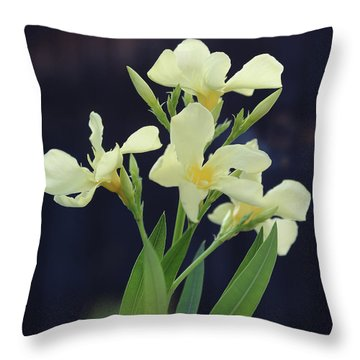 Oleander Marie Gambetta 2 Throw Pillow